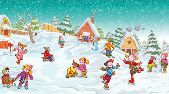 детский конкурс зимние забавы проголосовать
