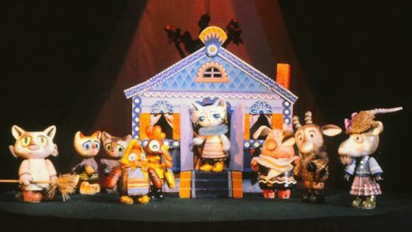Кошкин дом кукольный театр своими руками 100