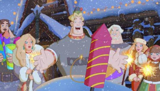 Три богатыря и принцесса Египта